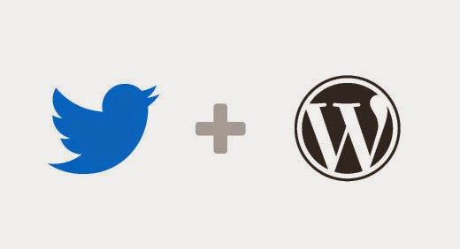 twitter wordpress