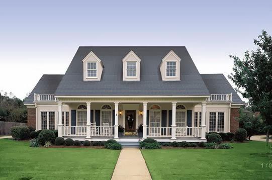 Fachadas casas modernas fachadas de casas tipo americano for Fachadas de casas modernas tipo americano