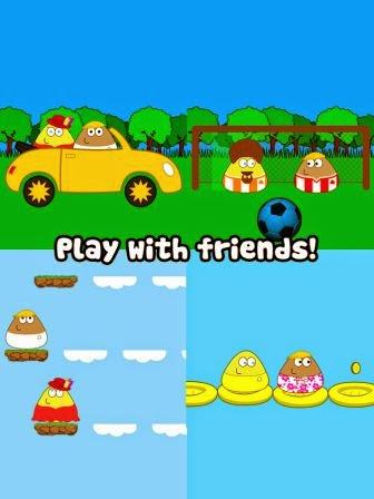 Pou Apk Full Version 1.4.37 Permaina Android Terbaru 2014