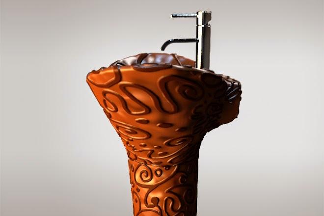 Шоколадная раковина Maderno