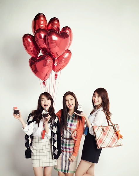 Girls Day Minah Yura Sojin Hazzys Allure