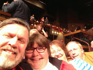 Intermission at the Grand Ole Opry