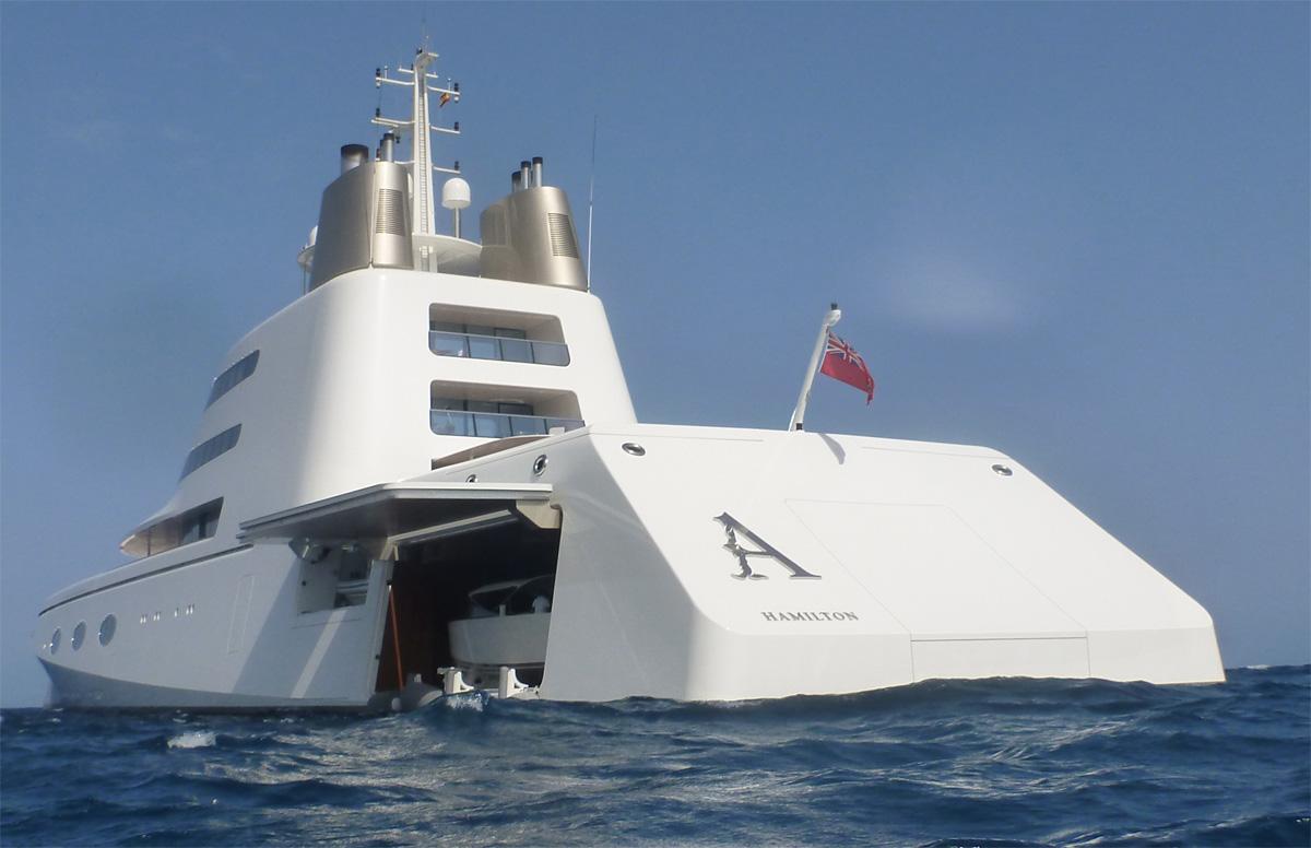 A Megayacht