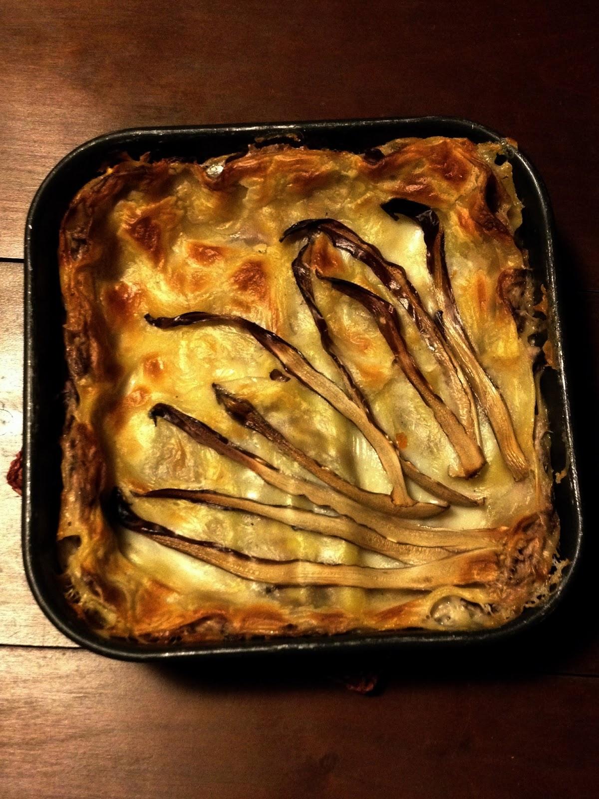 lasagne al radicchio tardivo