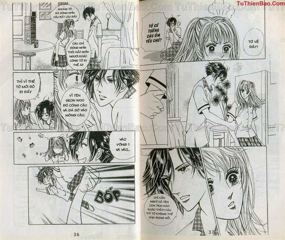 Nữ sinh chap 4 - Trang 19