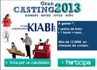 Concurso Gran Casting Kiabi 2013 premios