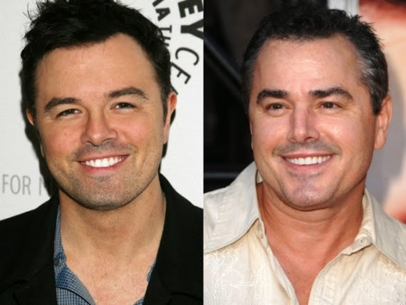 Seth MacFarlane e Christopher Knight