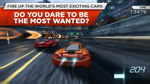 Need for Speed Most Wanted play store