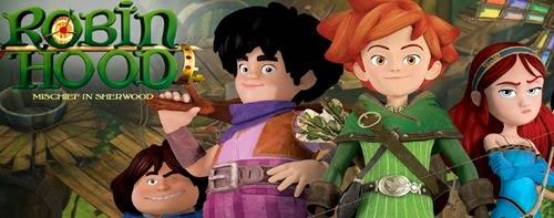 Novo desenho animado de Robin Hood chega ao Brasil