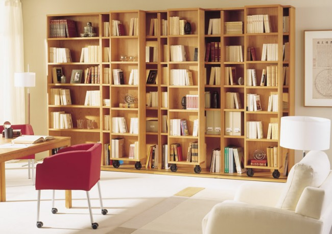 Muebles de dise o moderno y decoracion de interiores for Muebles librerias modernas