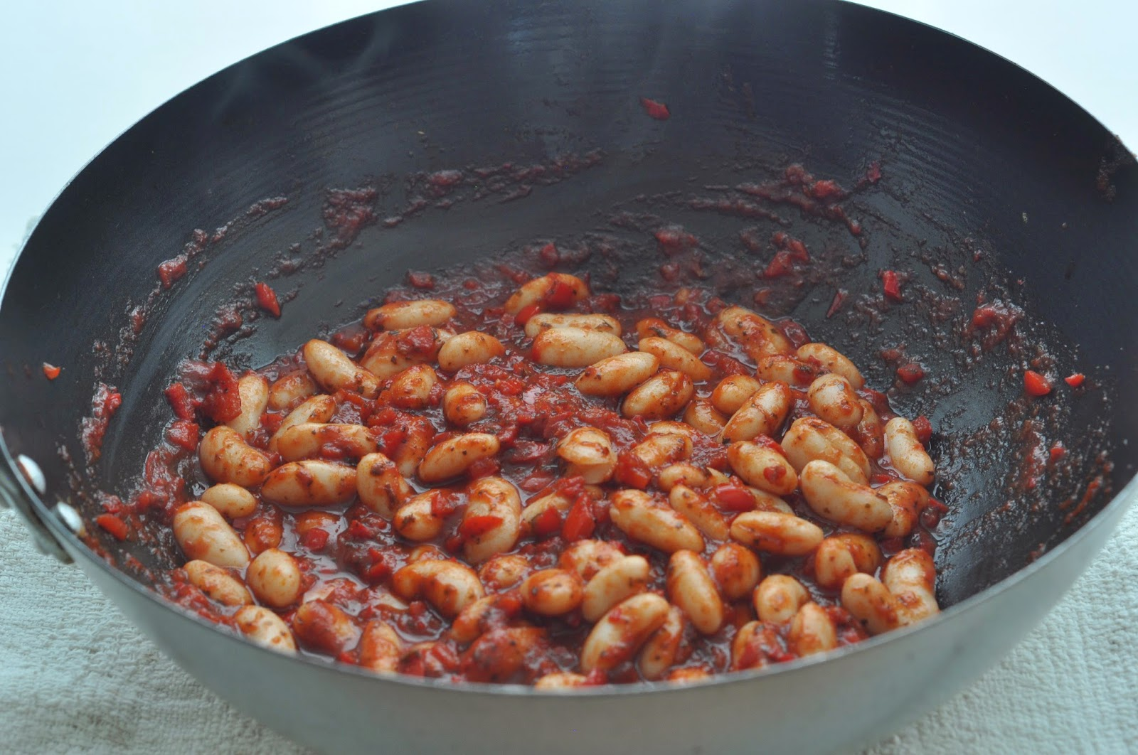 Chilli Callennoli Stuffed Peppers ~ Simple Food