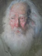 Old Man....oil portrait by Joseph William Dawley c.1980.