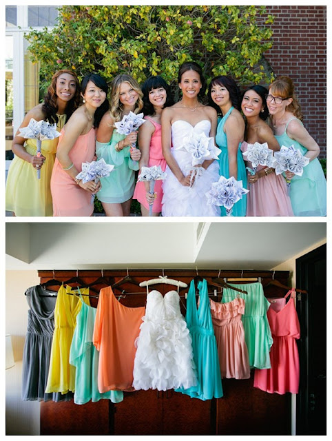 Colorful Wear Again Bridesmaid Dresses 02
