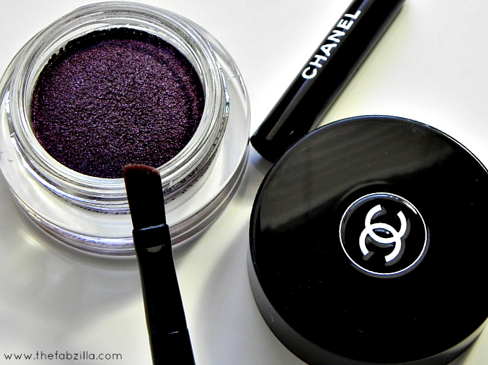 review chanel illusion d'ombre diapason swatch photos, high-end makeup, radiant orchid 2014, how to wear makeup, sofia vergara