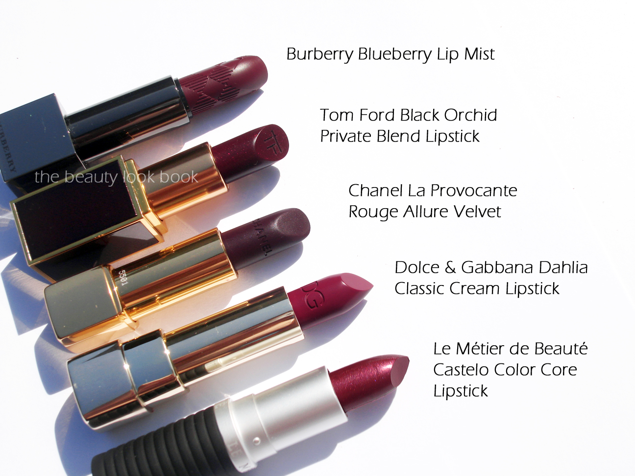 Dark Vampy Lips - Fall/Winter 2012 | The Beauty Look Book