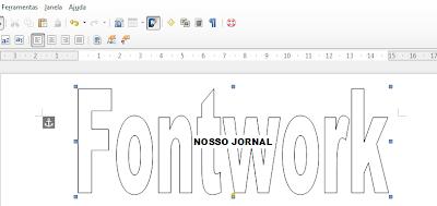 Editando o Fontwork