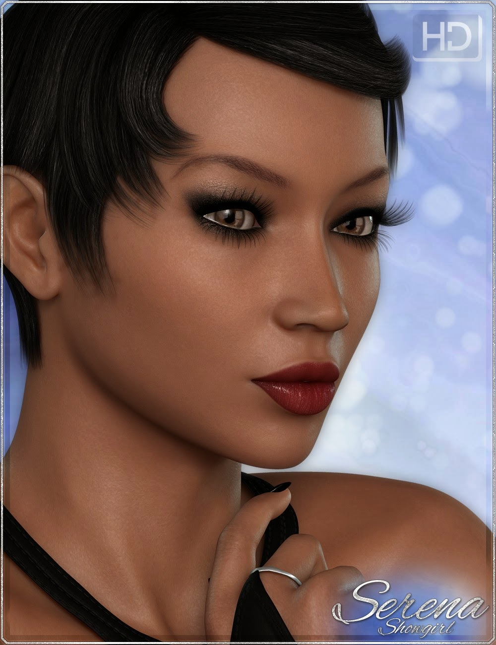Serena Show Girl HD Bundle - Caractère, équipement et cheveux
