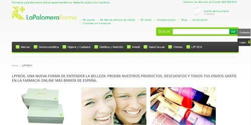 pagina web oficial de la LPF Box