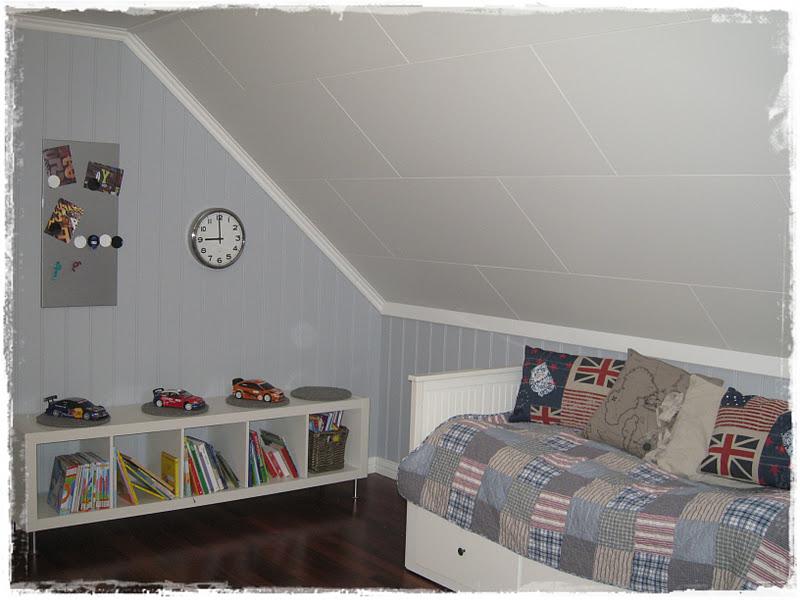 Notre maison: prosjekt makeover; gutterom del 4:ferdig!!!