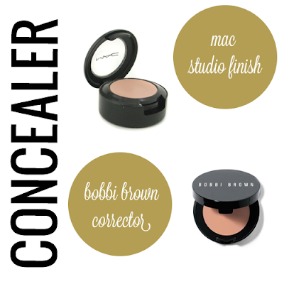 Mac Studio Finish Concealer, Bobbi Brown Corrector