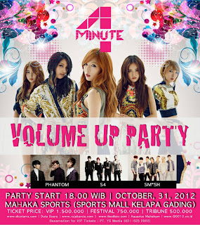 4minute & Phantom's Volume Up Party