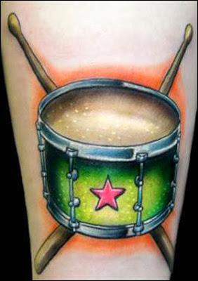 Tattoos de Música