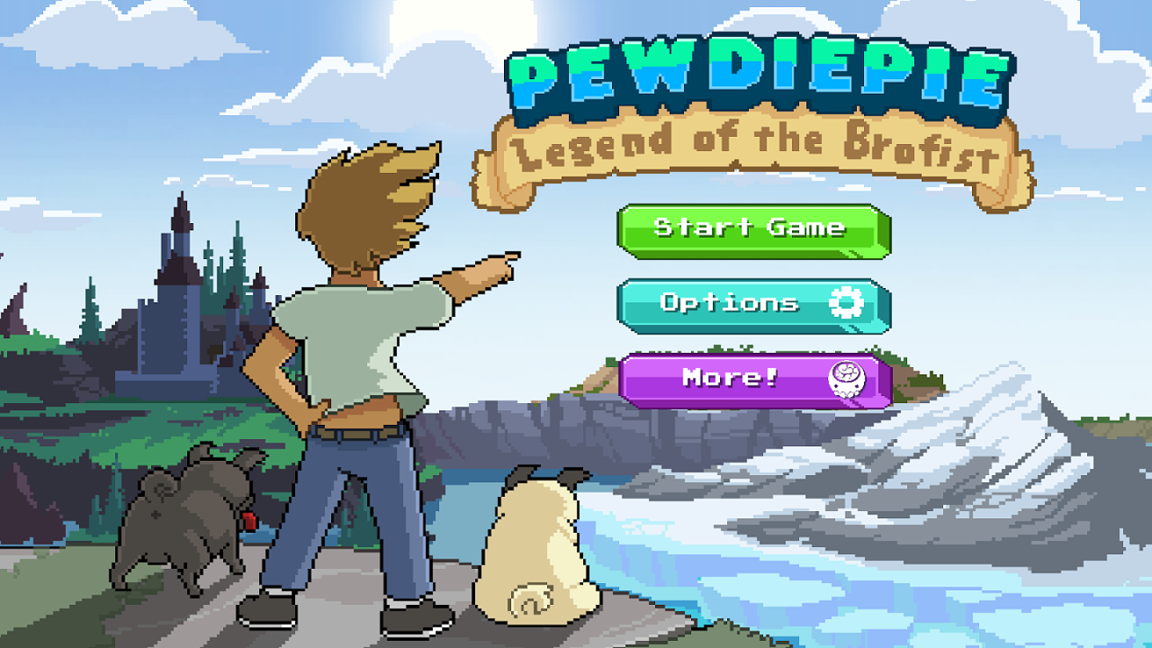 PewDiePie: Legend of Brofist Gameplay IOS / Android