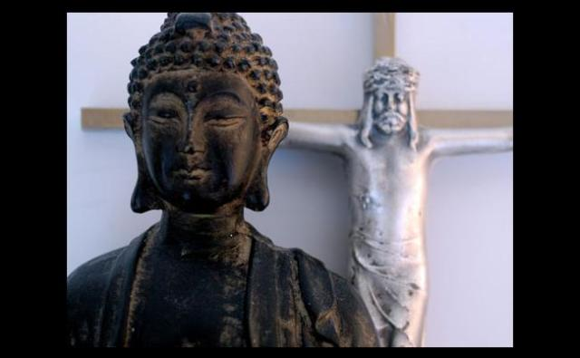 Buddhism and christianity is more similar than now