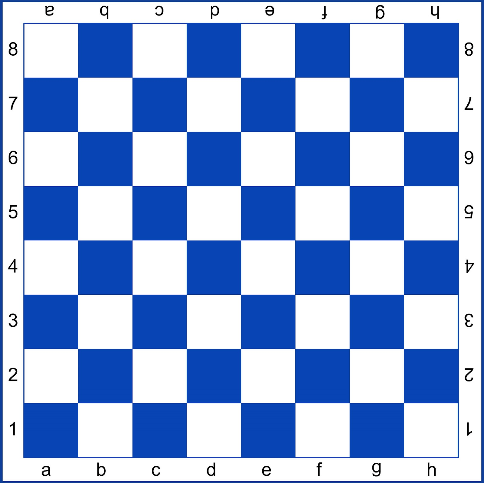 картинка доска шахматная для детей