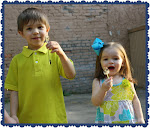My niece & nephew - Jake & Bella