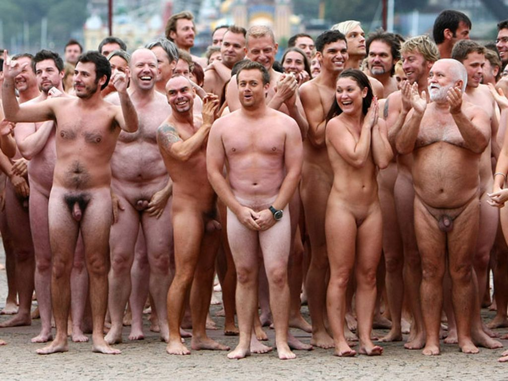 Art spencer tunick nude