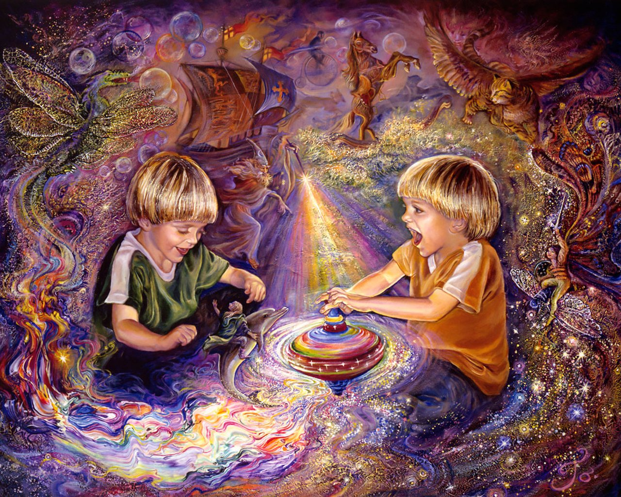 Fantasy wallpapers screensavers cini clips for Best art galleries in the world