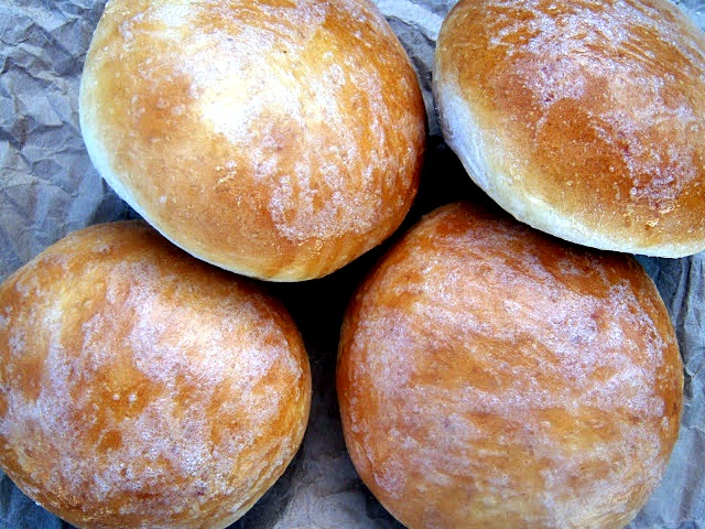 Karen Cooks: Beautiful Burger Buns