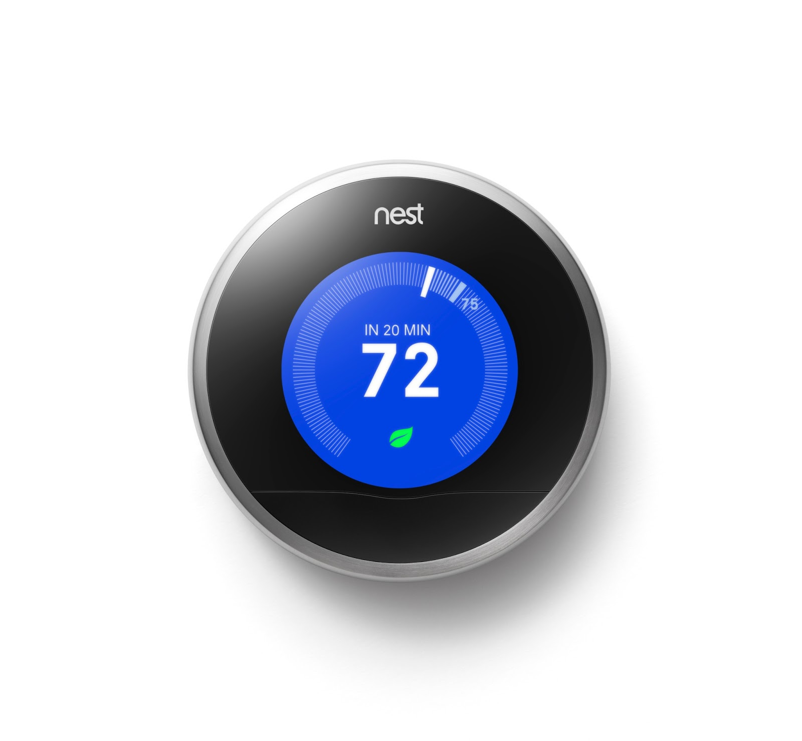 Eco tech planet review nest learning thermostat 2nd generation - Nest thermostat stylish home temperature control ...