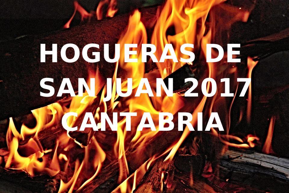 FIESTAS DE SAN JUAN 2017 EN CANTABRIA