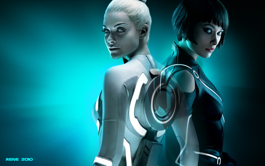 Girl From Tron Legacy