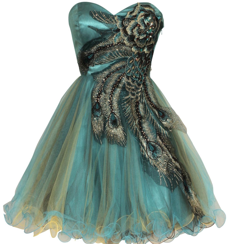 Short Junior Prom Plus Dresses - Evening Wear