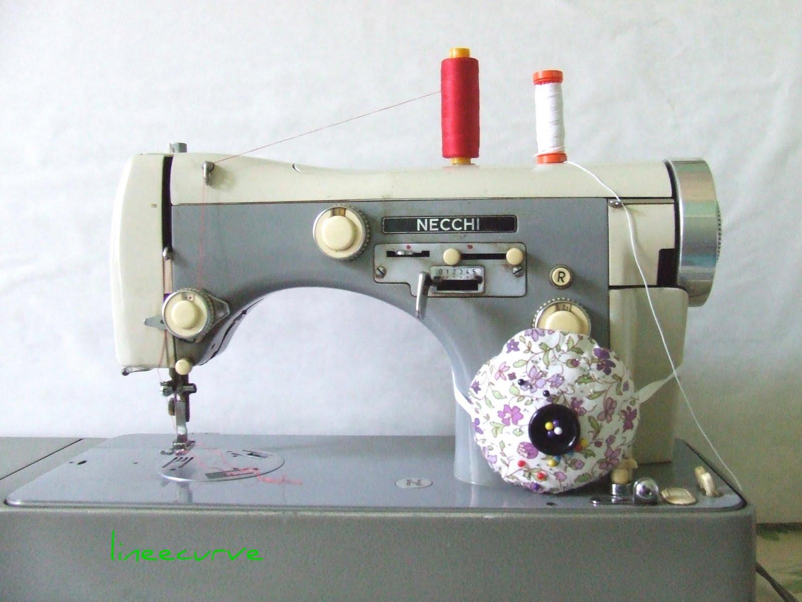 lineecurve strumenti di lavoro la macchina da cucire