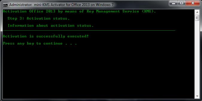 cara aktivasi office 2013 online