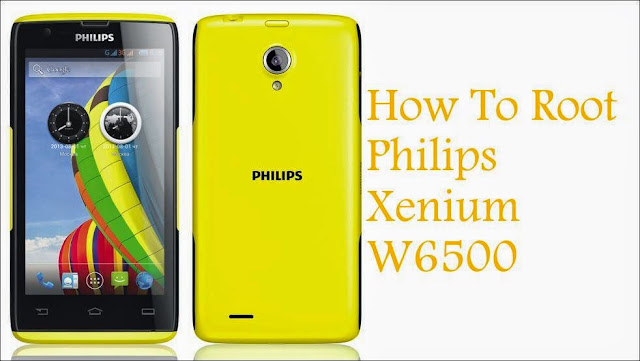 How To Root Philips Xenium W6500