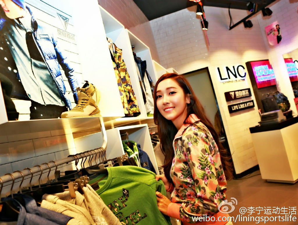 [150125] Jessica para Li-Ning - Fansigning Event 01