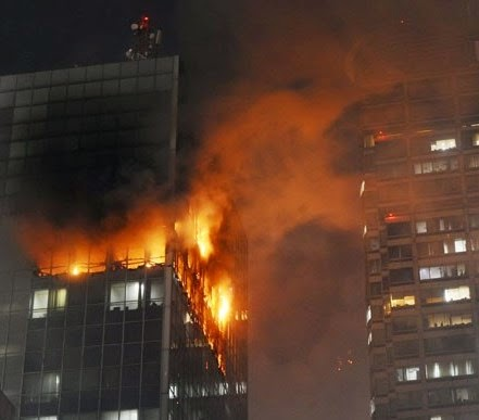 foto kebakaran wisma kasgoro