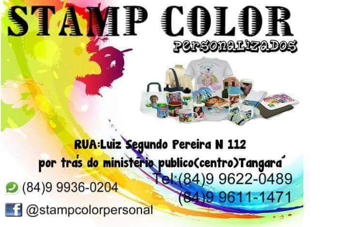 STAMP COLOR PERSONALIZADOS