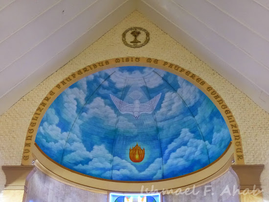Ceiling of the Shrine of Our Lady of Grace