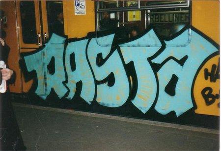 Rasta Graffiti Art Rasta Graffiti Train in Berlin