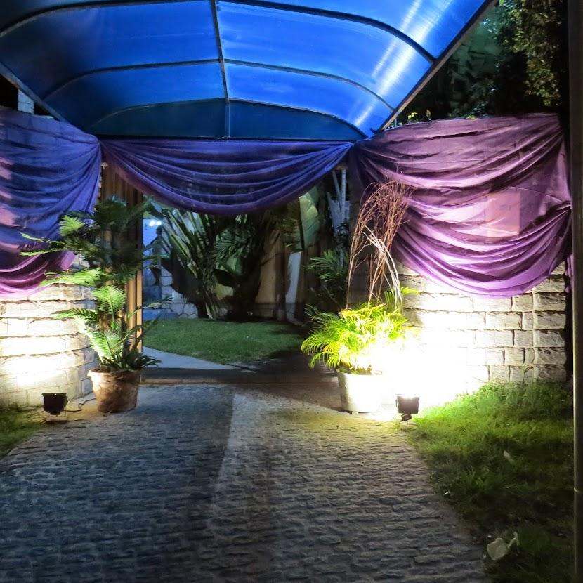 Sala reservada para foto-filmagem