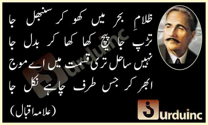 alama2Biqbal2B02 09 14 - علامہ اقبال ڈے کی مناسبت سے ان کے کچھ اشعار