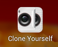 Clone yourself app for Smart phone
