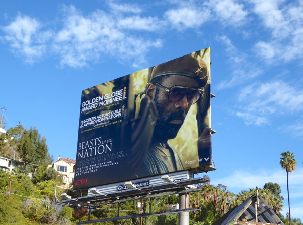 Beasts of No Nation Golden Globes billboard