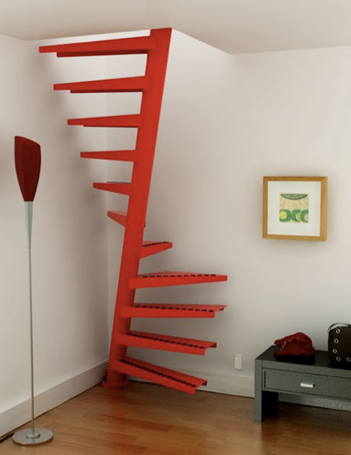space saving stairs design